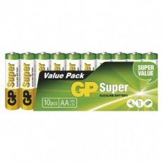 Alkalická baterie GP SUPER LR6 10SH Emos B1320G