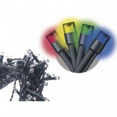 Spojovací Klasik LED vánoční řetěz, 10m, multicolor