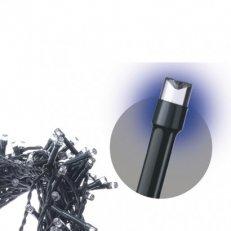 Spojovací Klasik LED vánoční řetěz, 10m, modrá