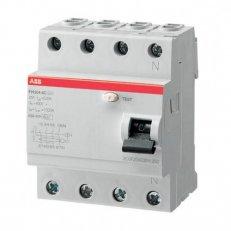 ABB FH204 AC-40/0,03 4pólový proudový chránič 40A 30mA HOME + POUKÁZKA