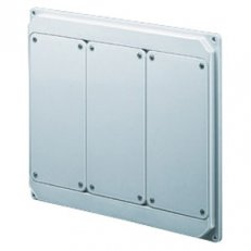 PANEL FOR 3 INTERL. COMB. IP44/55 WHITE