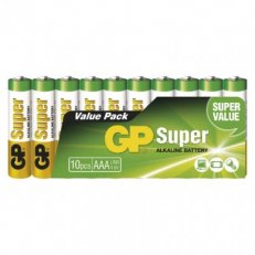 Alkalická baterie GP SUPER LR03 10SH Emos B1310G