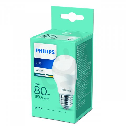 Philips LED žárovka 11-80W E27 1150lm A55 3000K